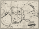'Pictorial Plan of Chester'. Town city plan by CATHERALL & PRICHARD c1870 map